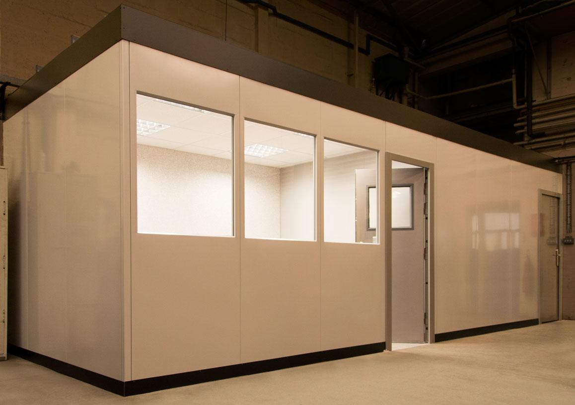 Steel partition office company Europa-2-Premier-Double-Skin-1