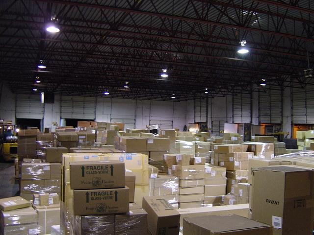 Create warehouse space